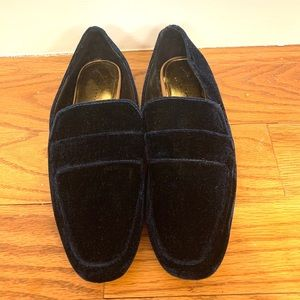 Zara Velvet Slippers Loafers
